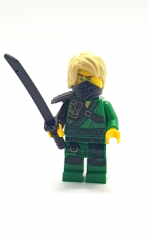 LEGO NINJAGO Figur LLOYD grüner Ninja mit Schwert Spinjitzu