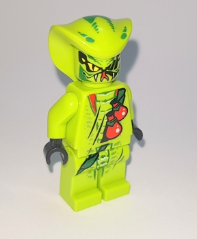 LEGO NINJAGO Figur Schlange Lasha Set 9562 9477 Ninja