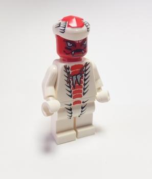 LEGO NINJAGO Figur Schlange Snappa Snake Ninja 9442 9564