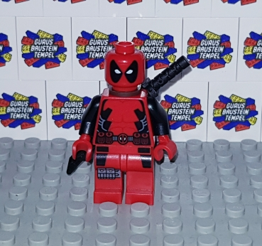 LEGO Figur DEADPOOL aus Set 6866 Marvel Heroes