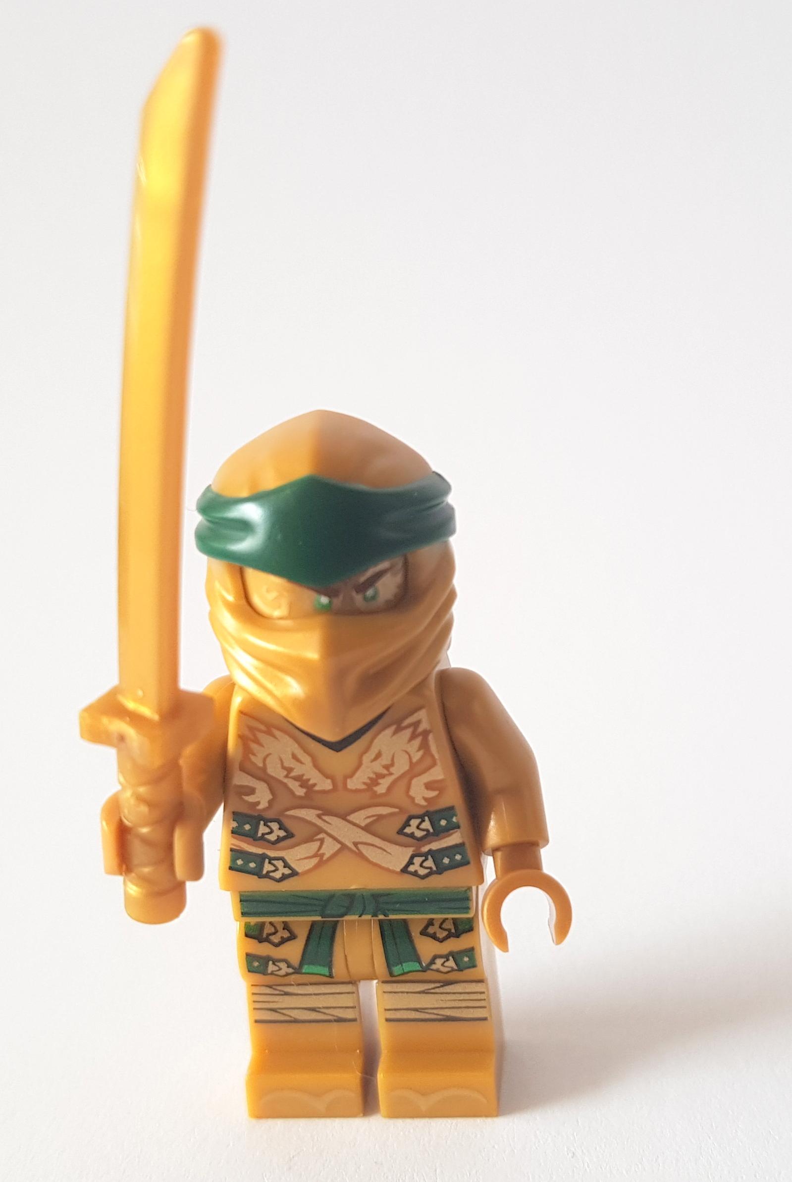 Lego Ninjago Figur Goldner Ninja Lloyd 70666Neuware!