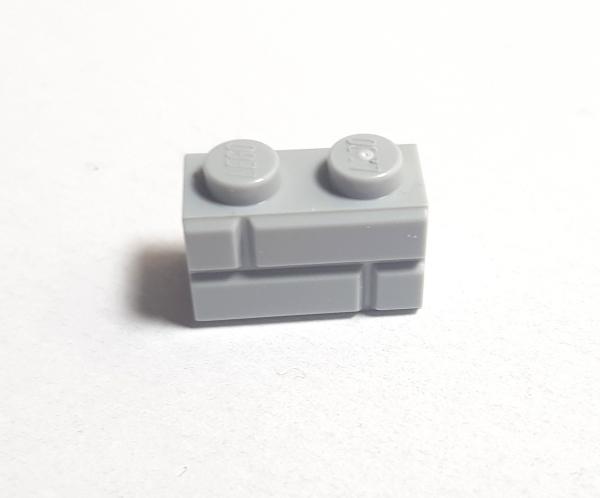 Brick Mauersteine Hellgrau grey 98283 500 Hellgrau LEGO® Steine 1x2