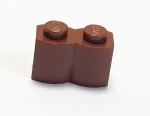 LEGO 30136 1x2 Palisade reddish brown